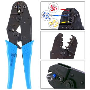Hilitchi 22-10AWG Wire Terminals Crimper Tool
