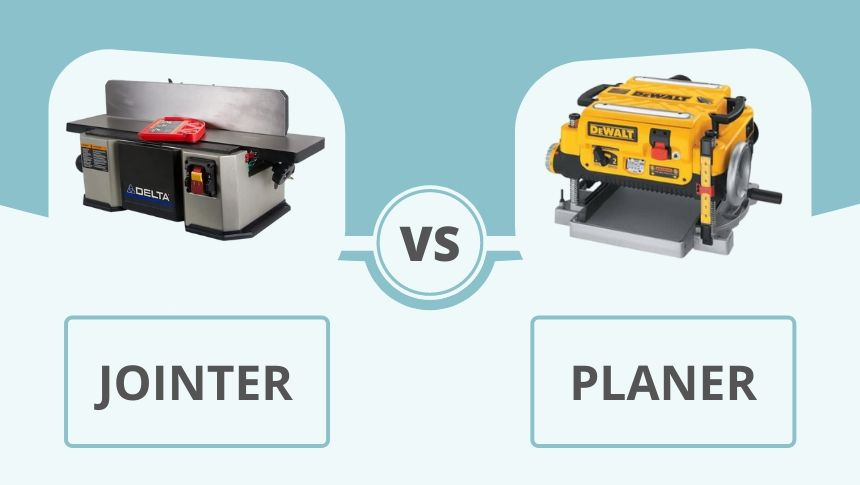 Jointer vs Planer